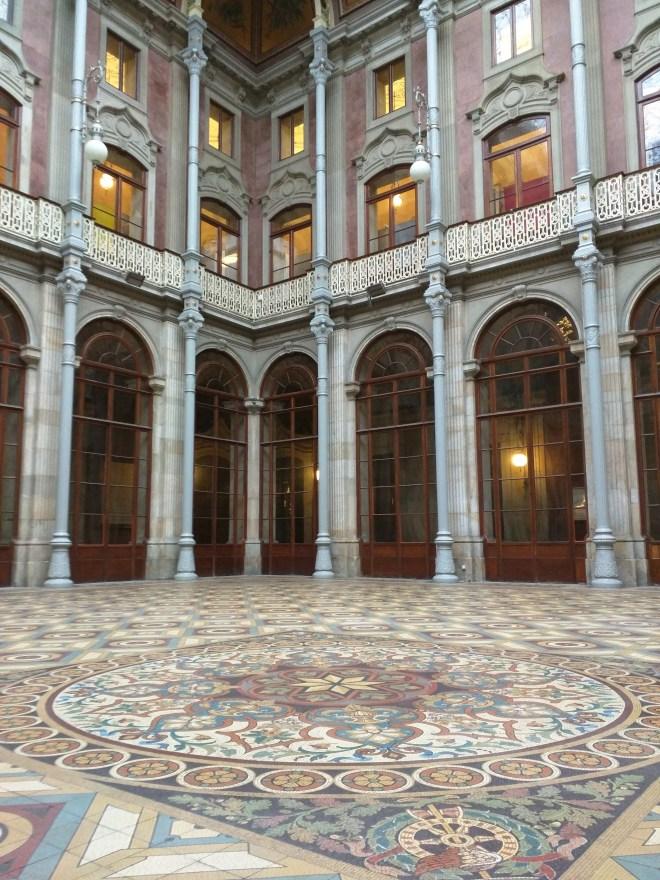 Portugal Porto palácio da bolsa pátio das nações