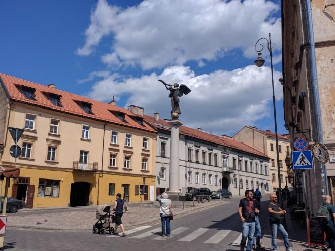 Republica de Uzupis vilnius lituania anjo praça