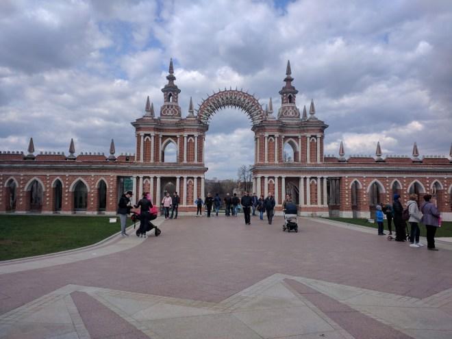 Tsaritsino parque Catarina Moscou 15