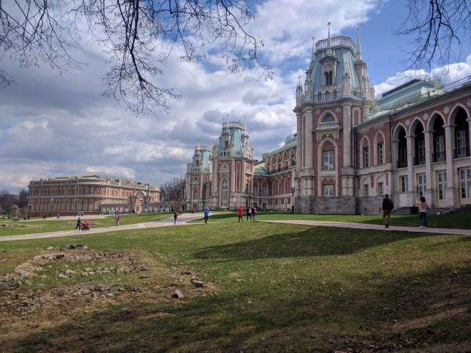 Tsaritsino parque Catarina Moscou 6