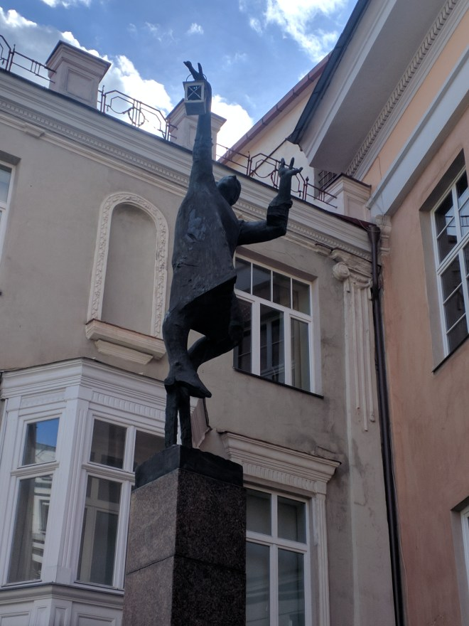 Vilnius Lituania estatua