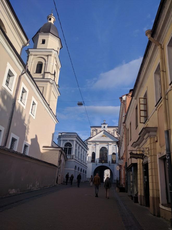 Vilnius Lituania portão da alvorada