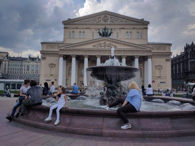 Praça do ballet bolshoi moscou ingresso estudante