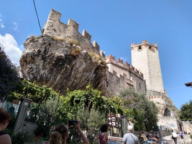 Lago de Garda Malcesine castelo scaligero