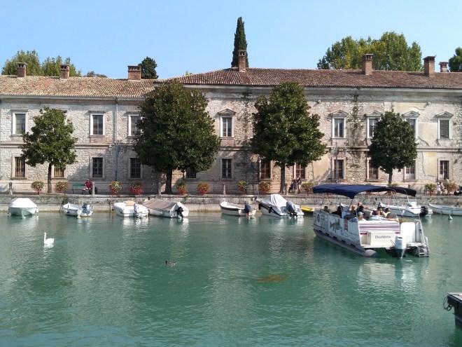 Lago de Garda Peschiera centro historico 3