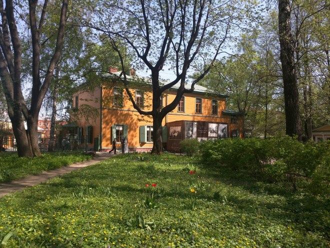 Moscou casa Tolstoi exterior