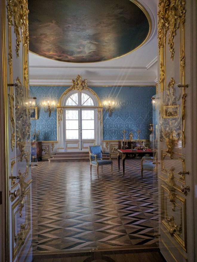Petergof Russia Petersburgo grande palacio