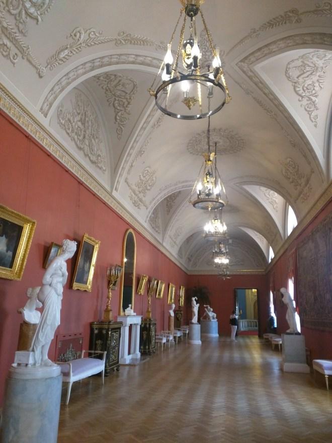 Petersburgo palacio Iussupov esculturas antigas