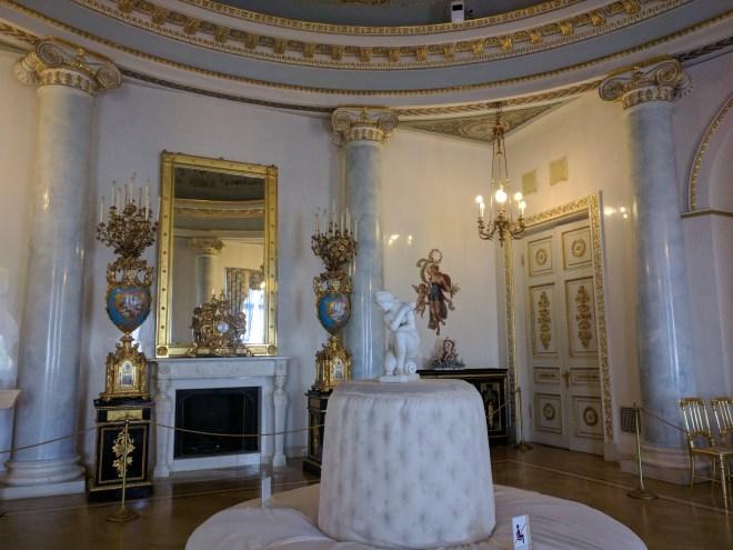 Petersburgo palacio Iussupov sala de audiência