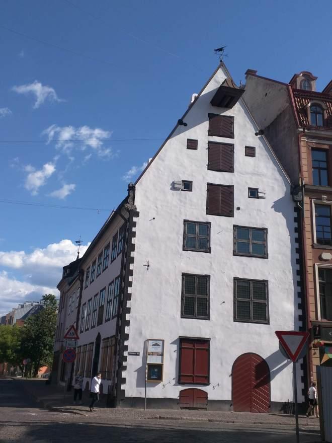 Riga Letonia casa mais antiga