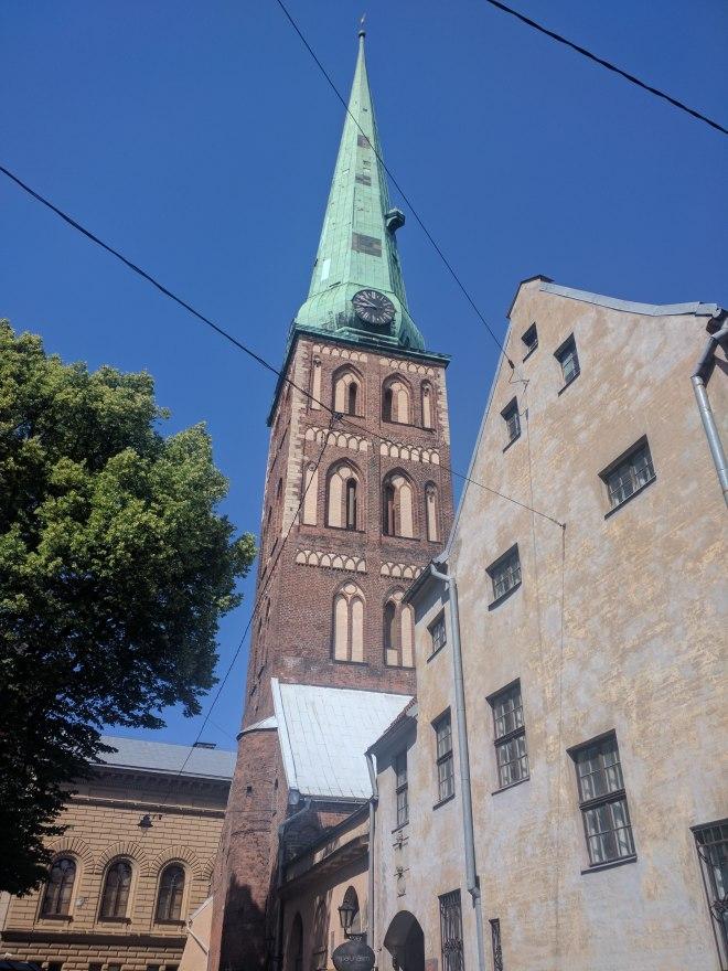 Riga Letonia cidade velha