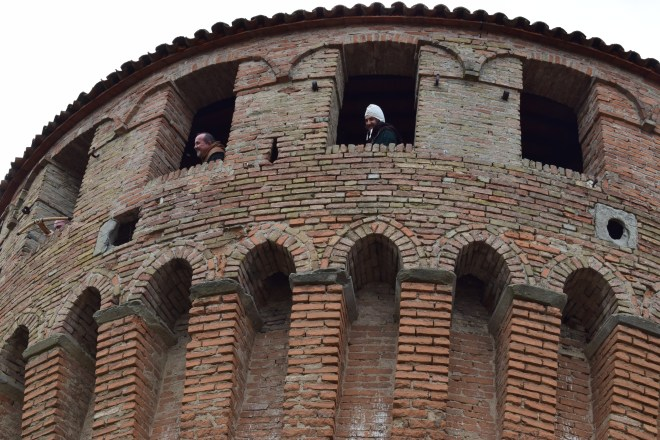 Bologna Dozza Rocca andar de cima