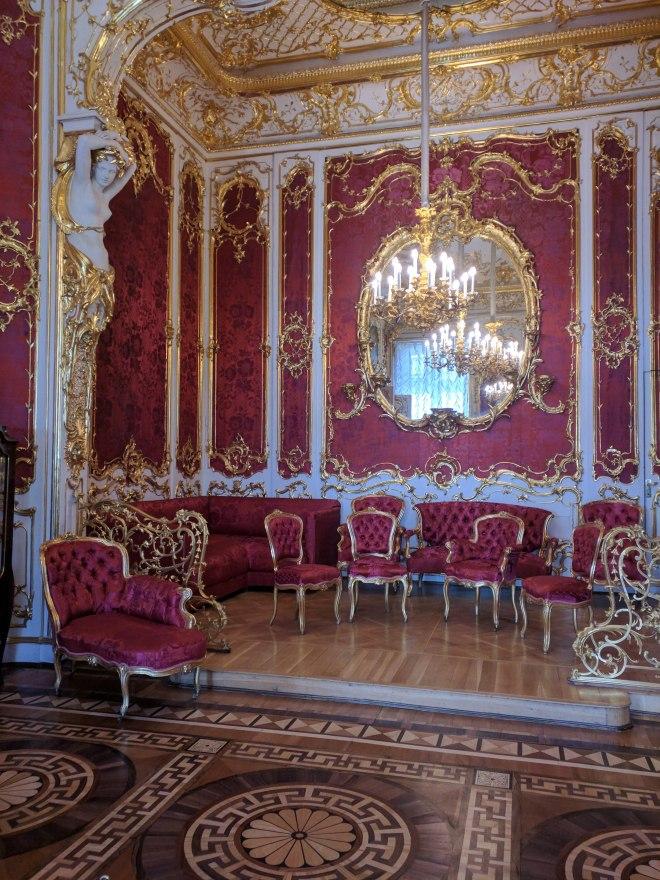 Petersburgo Hermitage sala de visitas das tsarinas