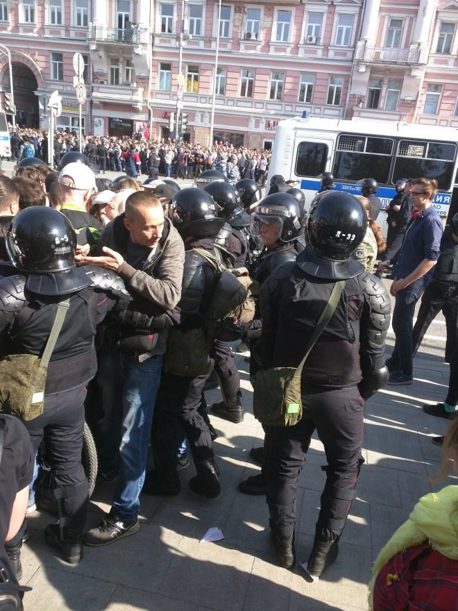Protesto anti-Putin em Moscou 10