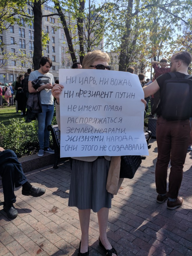 Protesto anti-Putin em Moscou 4