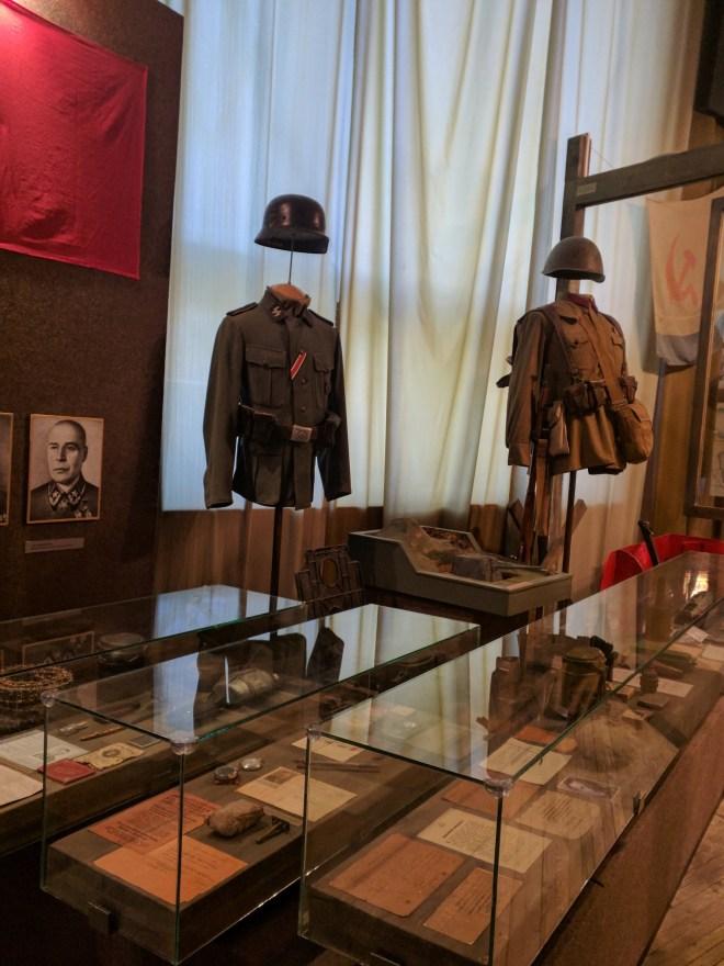 Russia Petersburgo Museu do cerco Leningrado 1