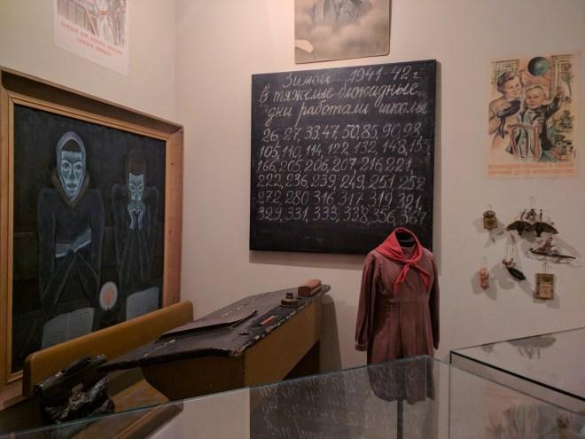 Russia Petersburgo Museu do cerco Leningrado 5