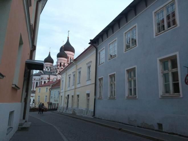 Tallinn centro historico colina Toompea catedral Alexandre Nevski 2