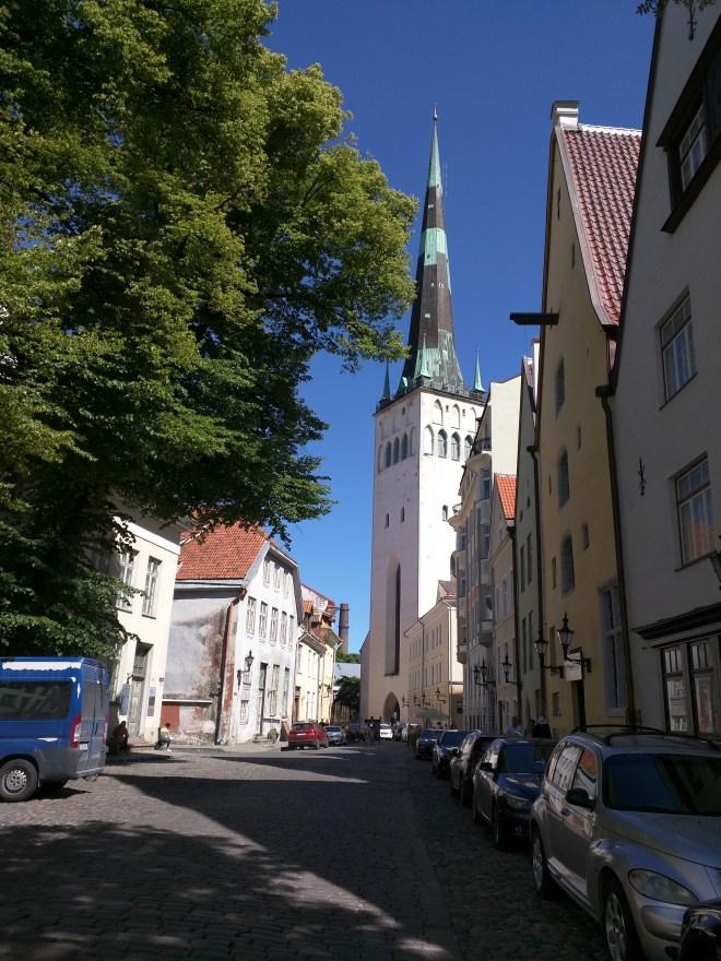 Tallinn centro historico igreja de são olaf 3
