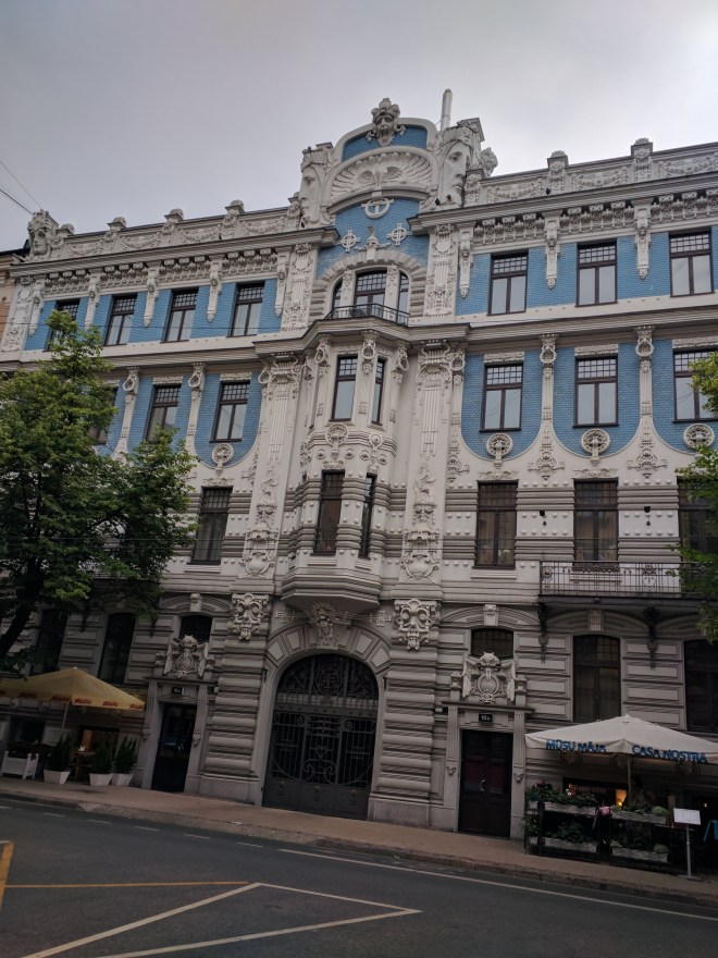 Letonia Riga Centro quieto bairro art nouveau 8
