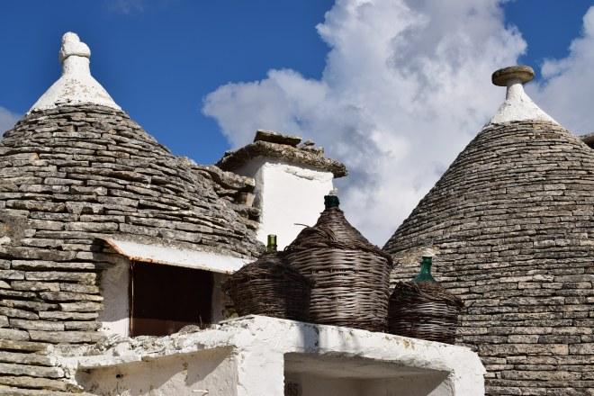 Puglia Alberobello telhados