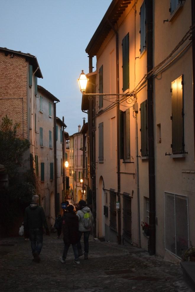 Brisighella borgo medieval italia ruas 5