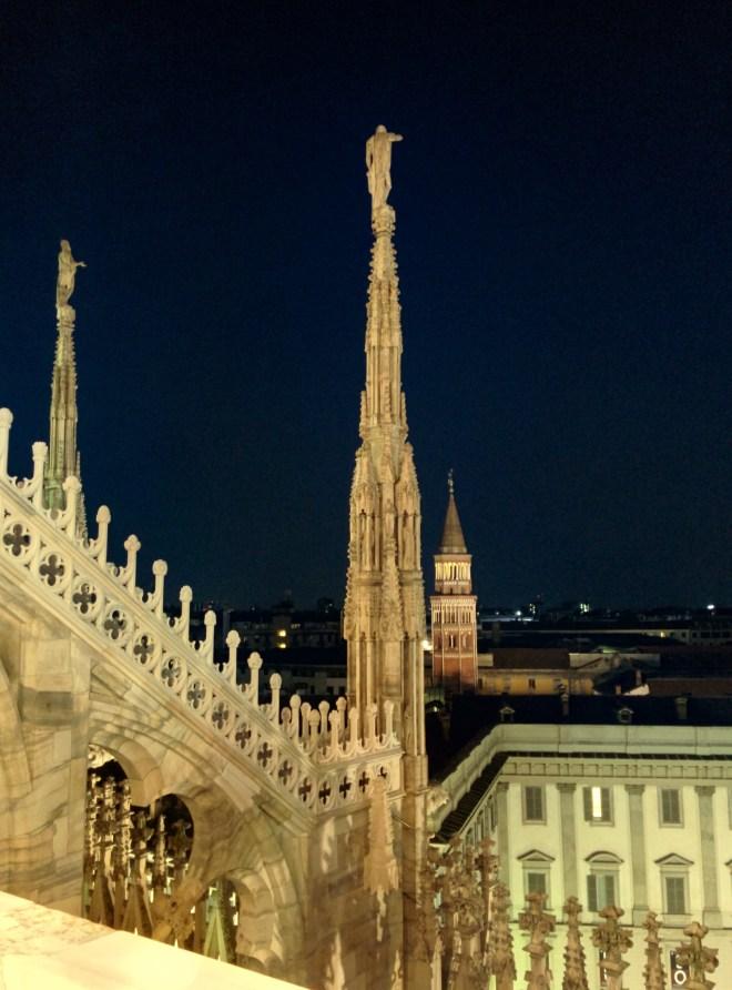 Milão Duomo terraços 6