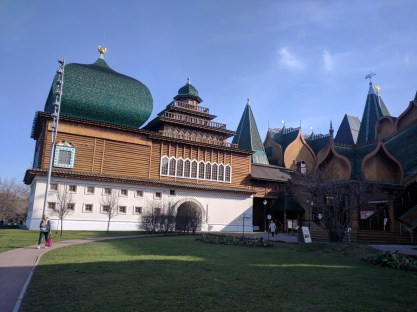 Moscou parque Kolomenskoye palacio de Aleksei o grande