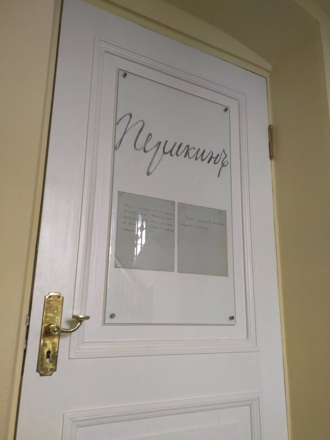 Petersburgo apartamento Pushkin