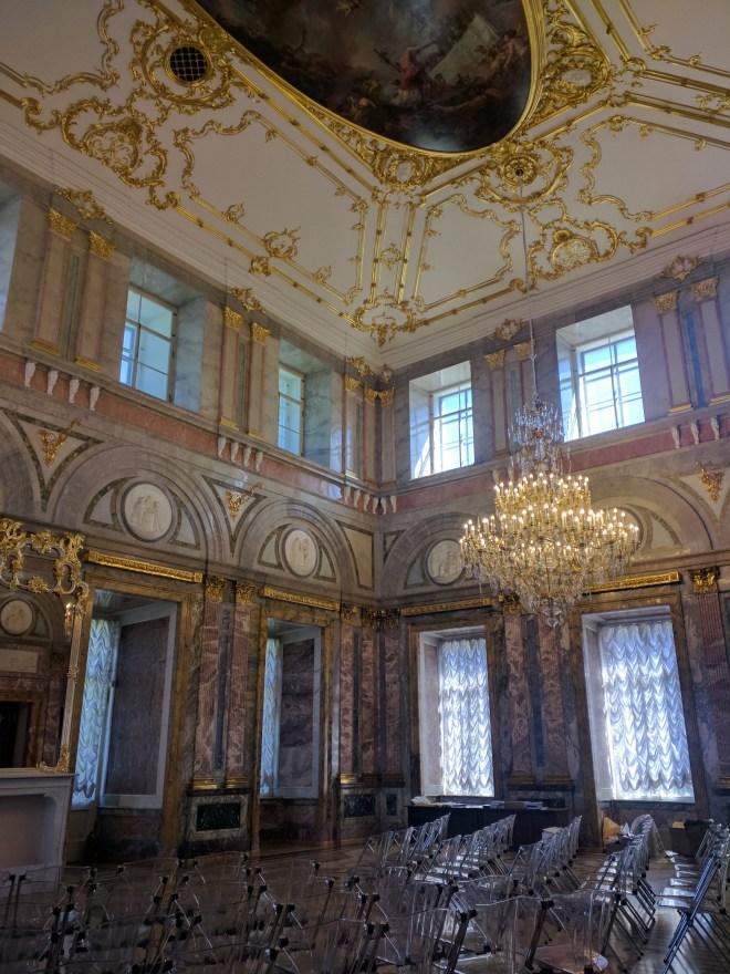 Petersburgo museu russo palacio de marmore hall marmore
