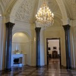 Petersburgo museu russo palacio de marmore interiores
