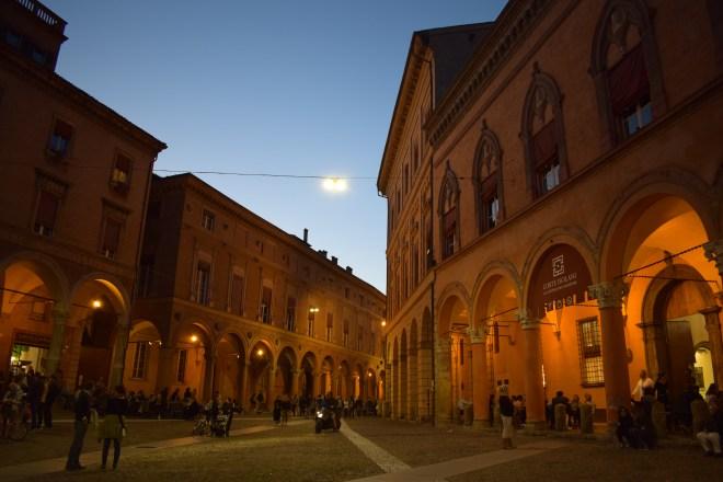Bologna porticos Santo Stefano