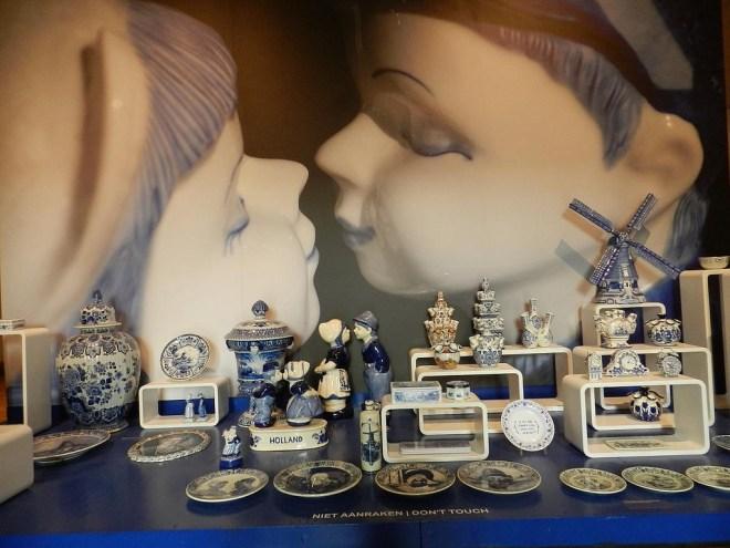 Delft het prosenhof porcelana arte kunst kitsch