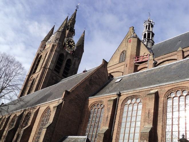 delft oude kerk exterior