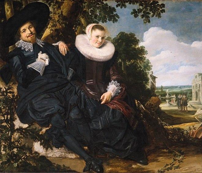 rijksmuseum Frans Hals retrato casamento