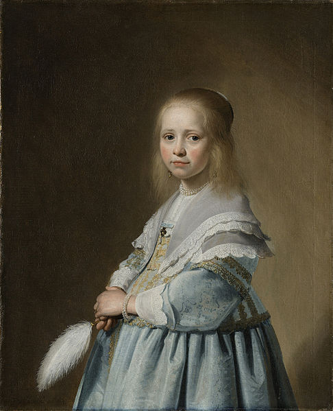 Rijksmuseum Johannes Cornelisz Verspronck retrato menina vestida azul