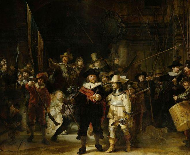 rijksmuseum rembrandt ronda noturna