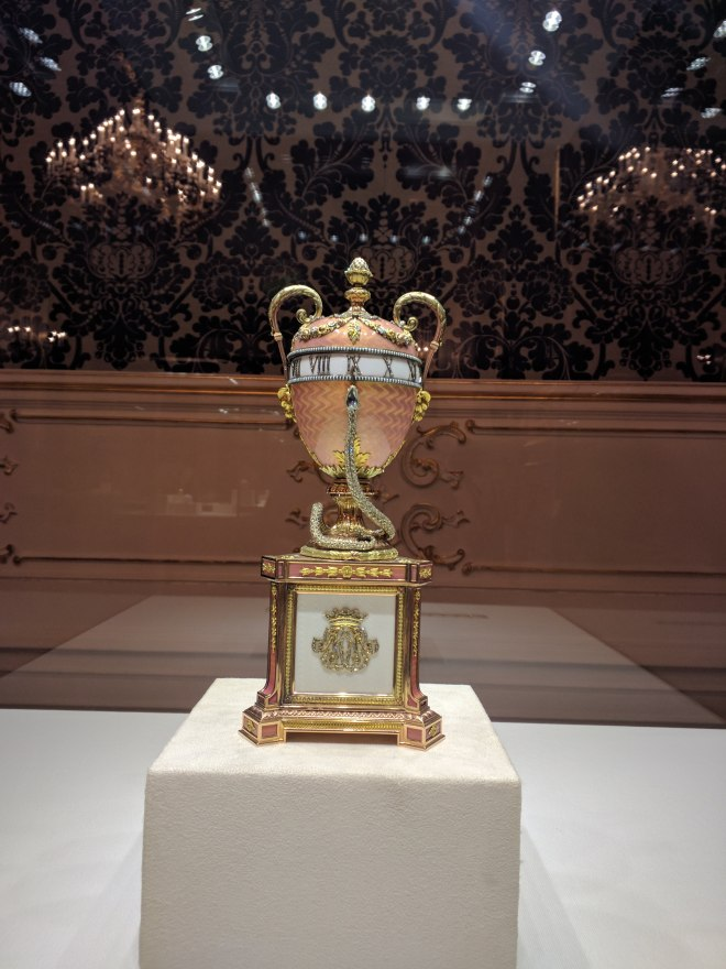 Museu Faberge Petersburgo ovo da duquesa de Marlborough