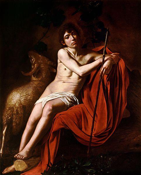 Onde ver Caravaggio em Roma galleria borghese sao joao batista