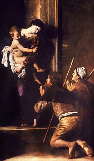 Onde ver Caravaggio em Roma igreja de sant'agostino madonna del loretto