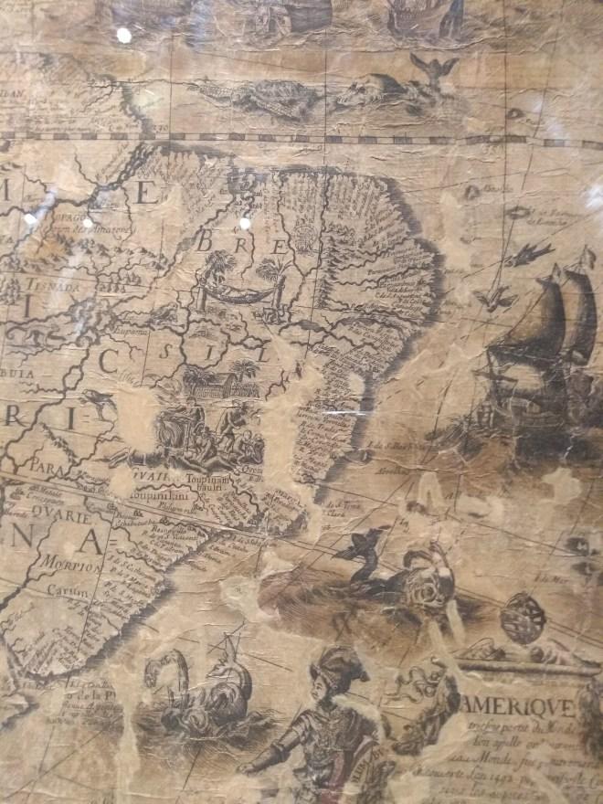 Bologna universidade Museu palazzo poggi mapa canibais brasil
