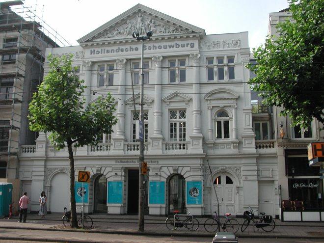 Lugares segunda guerra Amsterdam Hollandse Schouwburg