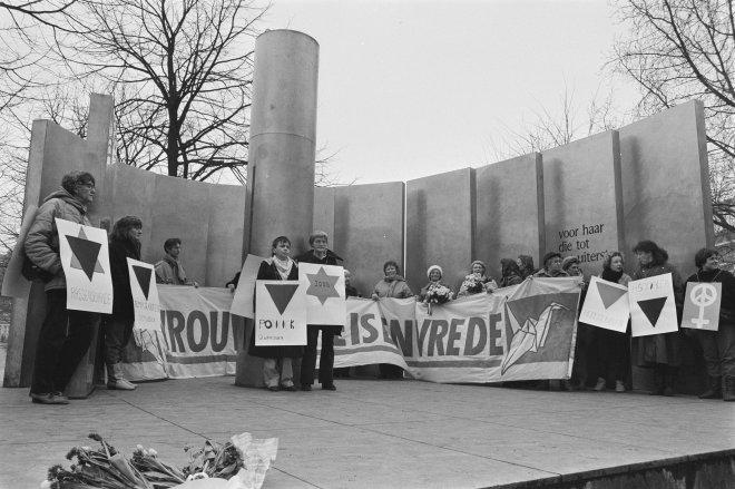 Lugares segunda guerra Amsterdam monumento mulheres ravensbruck