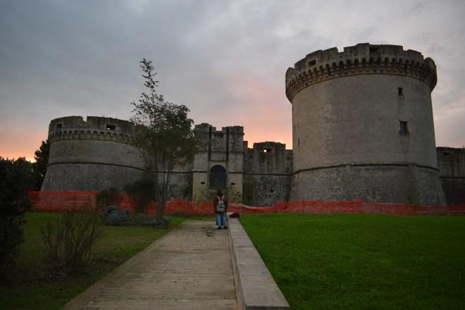 Matera sul itália castelo tramontano