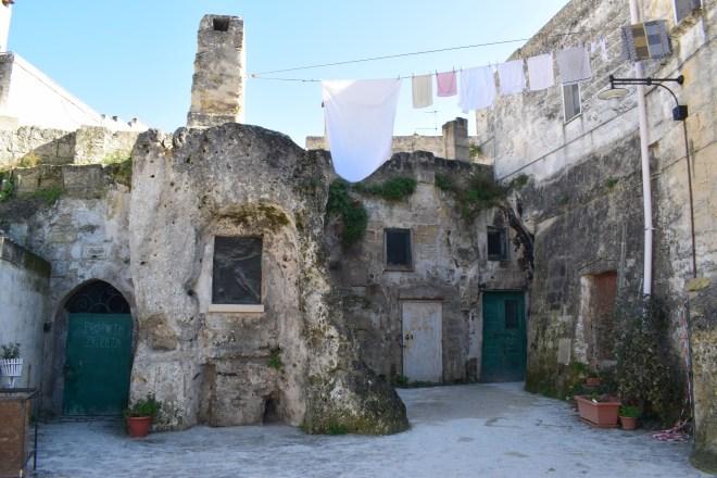 Matera sul itália propriedade privada