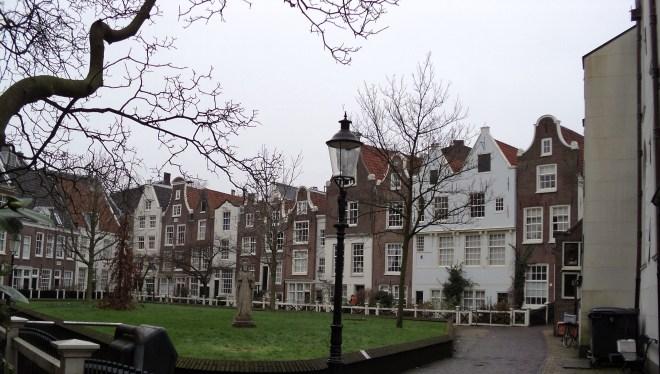 Amsterdam atrações gratuitas Begijnhof