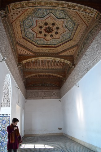 Marrakech palacio bahia teto 10