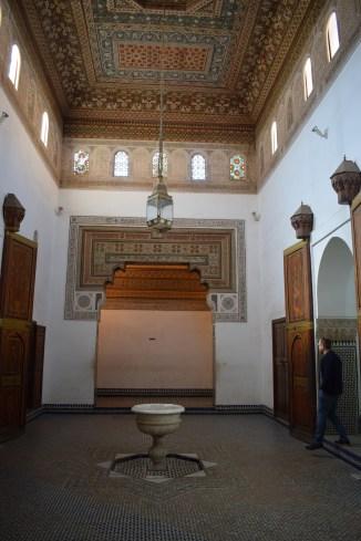 Marrakech palacio bahia teto 7