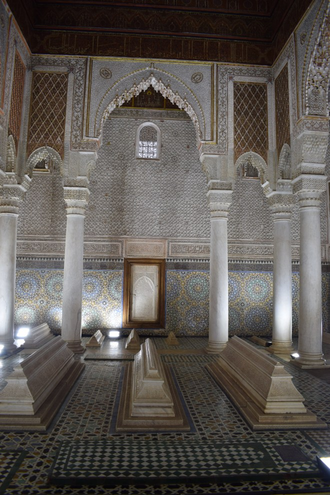 Marrakech tumulos saadianos arquitetura andalusia 2
