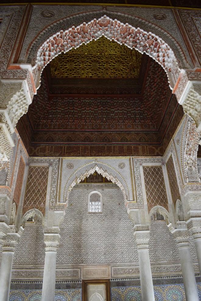 Marrakech tumulos saadianos arquitetura andalusia 3